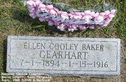 Ellen E <I>Cooley Baker</I> Gearhart