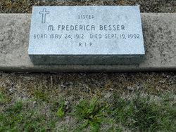 Sr M. Frederica Besser