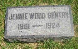 Jennie <I>Wood</I> Gentry