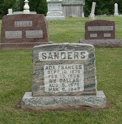 Ada Frances <I>Myres</I> Sanders