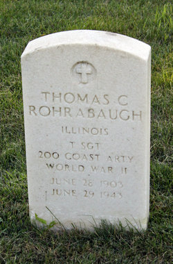 TSGT Thomas C Rohrabaugh