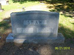 Christine <I>Matthews</I> Shaw
