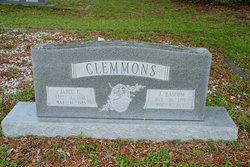 Zilla Janie <I>Gray</I> Clemmons