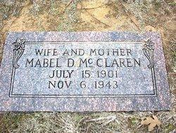 Mabel <I>Davis</I> McClaren