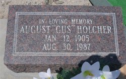 "August ""Gus"" Holcher"