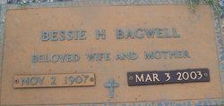 Bessie Mae <I>Hall</I> Bagwell