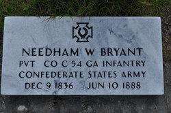 Pvt Needham W. Bryant