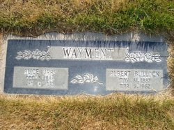 Albert Bullock Wayment