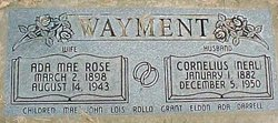 Ada Mae <I>Rose</I> Wayment