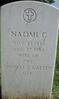 Naomi Catherine <I>Hash</I> Gatten