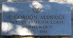 Pvt Clifford Gordon Aldridge