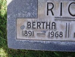 Bertha Etoye <I>Brooks</I> Rice