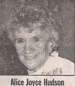 Alice Joyce <I>Skidmore</I> Hudson