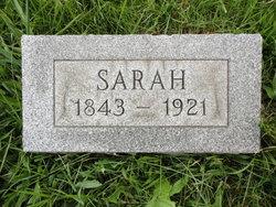 Sarah <I>Lewis</I> Collins