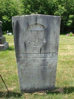 Rev John Maximilian Bailey