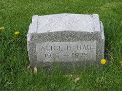 Alice Joan <I>Krebsbach</I> Hau