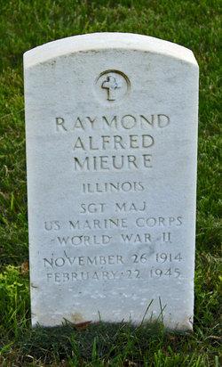 SGTMAJMC Raymond Alfred Mieure
