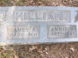 Annie V <I>Lucas</I> Hilliard