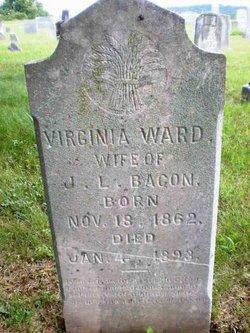 Virginia <I>Ward</I> Bacon