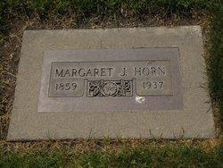 Margaret <I>Sinclair</I> Horn