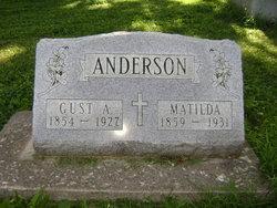 Matilda <I>Johnson</I> Anderson
