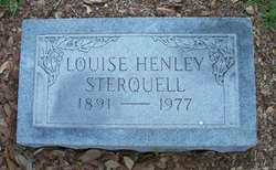 Mary Louise <I>Henley</I> Sterquell