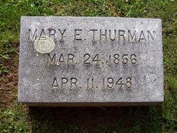 Mary Elizabeth <I>Howerton</I> Thurman