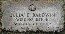 Julia E. Baldwin