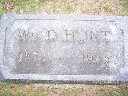 William David Hunt