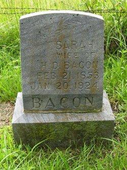 Sarah <I>Roney</I> Bacon