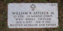 William R Affleck, Jr