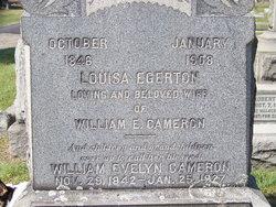 Louisa Egerton Cameron