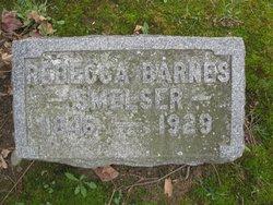 Rebecca <I>Barnes</I> Smelser