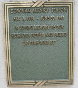 Edward Henry Simon