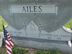 Elizabeth Jane <I>Crawley</I> Ailes