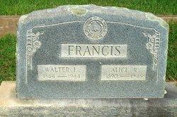 Alice R. Francis