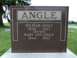 Mary Ann <I>Evans</I> Angle