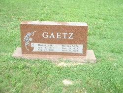 Wilma M.S. Gaetz
