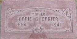 Annie Groves Carter