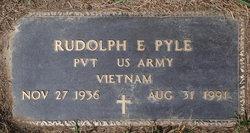 Rudolph E Pyle