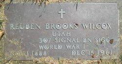 Reuben Brooks Wilcox