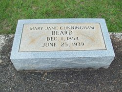 Mary Jane <I>Cunningham</I> Beard