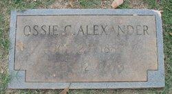 Ossie Alice <I>Collins</I> Alexander