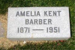 Amelia Mino <I>Kent</I> Barber