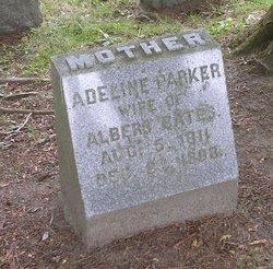 Adeline <I>Parker</I> Bates