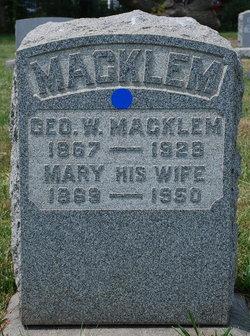 Mary <I>Heal</I> Macklem