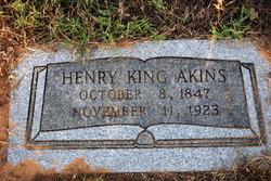 Henry King Akins
