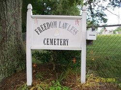 Freedom Lawless Cemetery