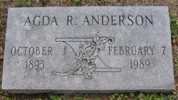 Agda R Anderson