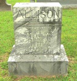"Louisiana ""Lou"" <I>Gracy</I> Allison"